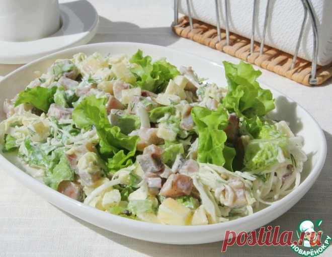 Селедочный салат – кулинарный рецепт
