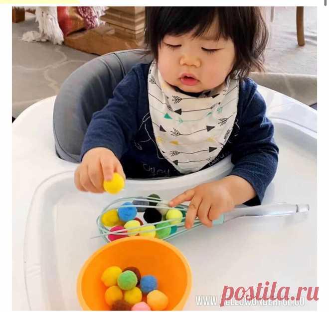 Идеи классных развивашек из подручных средств   Мамам и малышам   Яндекс Дзен