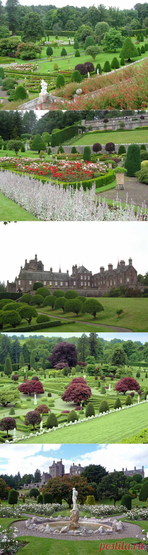 Сады замка Драммонд.