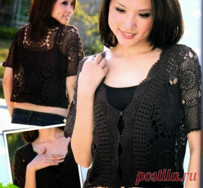 Irish crochet &: Lace jacket