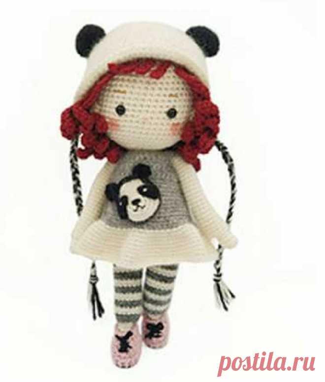 Предлагаю связать куколку Эмму: делюсь переводом | Be Creative | Яндекс Дзен