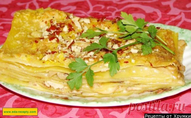 Лазанья из курицы рецепт приготовления в домашних условиях