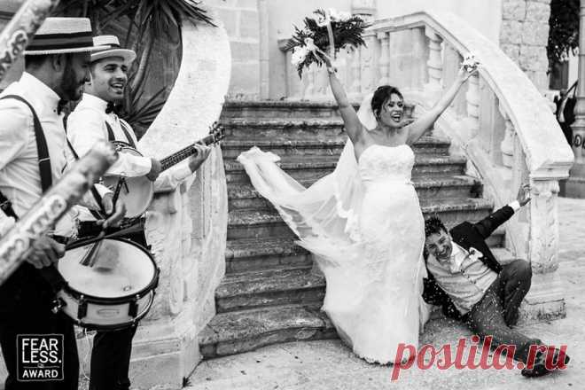 Inspiring wedding photos from the competition Fearless Awards 2017