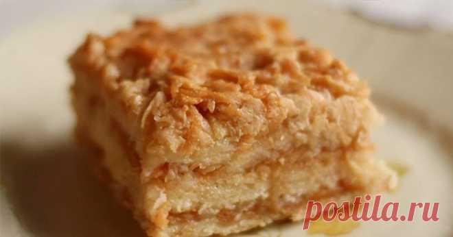 Болгарский яблочный пирог или пирог «3 стакана» . Просто наслаждение – Простые советы