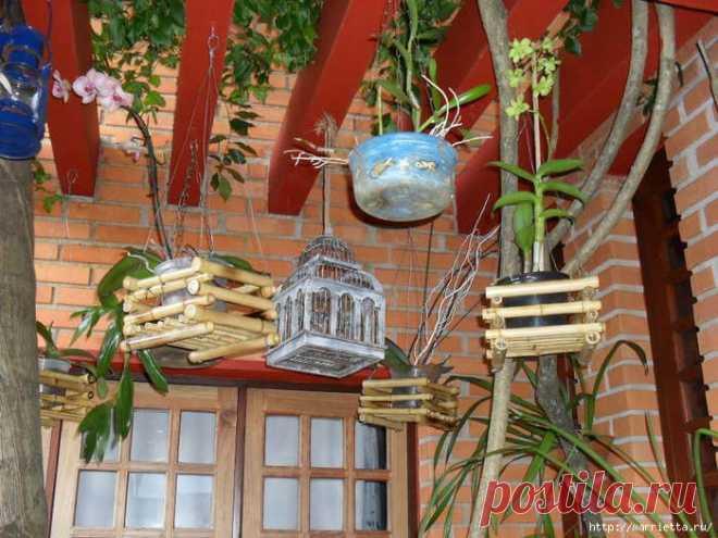 Бамбуковые фантазии для интерьера.