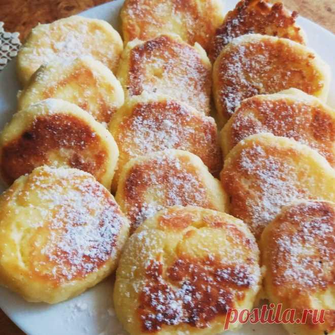 Сырники по Госту — Кулинарная книга - рецепты с фото