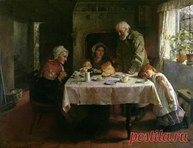 Молитвы до и после еды