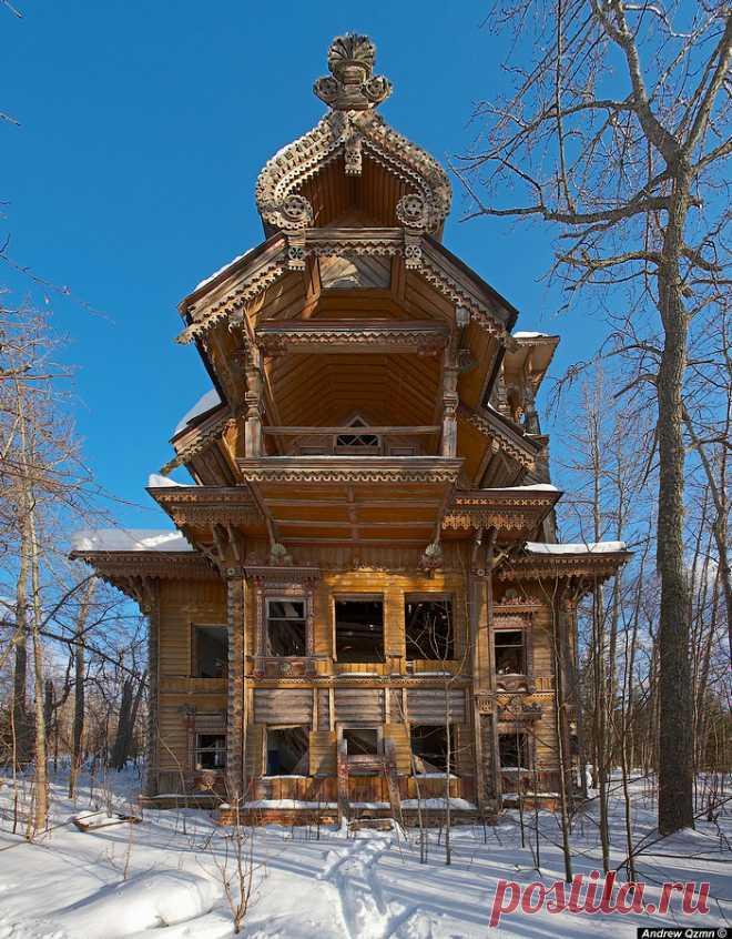Затерянные дома России   ОПТИМИСТ