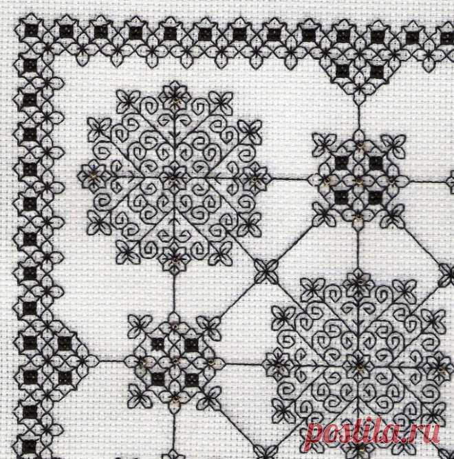Схемы для вышивки блэквок