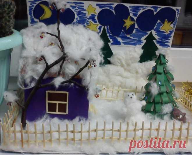 Поделки на тему зима - 65 фото идей зимних изделий