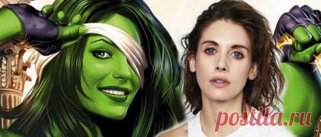 Женщина-Халк: путь от комиксов до киновселенной Marvel.