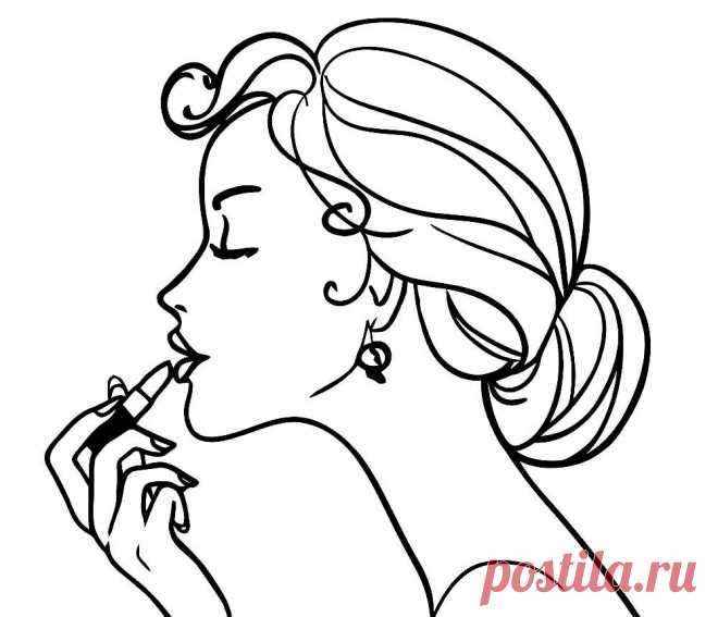 Раскраска «лицо девушки-осень» (20 фото) ⭐ Забавник ...