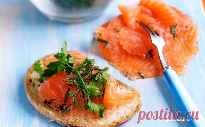Рецепт недели - Быстрый, простой и вкусный посол рыбы   ГОРНИЦА