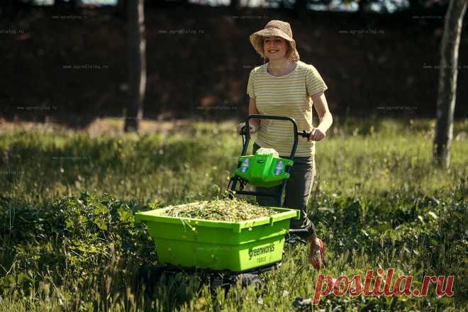 Простые решения тяжелых работ! Полезные советы Greenworks
