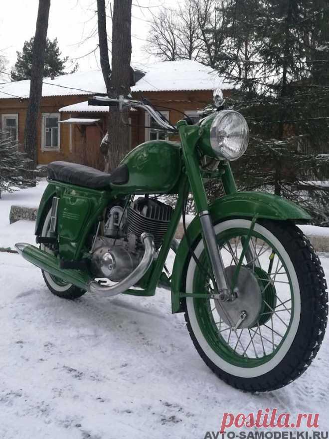 Реставрация советского мотоцикла Иж 56, 1961 года выпуска