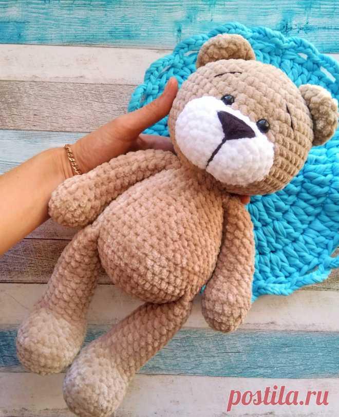 PDF Мишутка крючком. FREE crochet pattern; Аmigurumi doll patterns. Амигуруми схемы и описания на русском. Вязаные игрушки и поделки своими руками #amimore - плюшевый медведь, медвежонок, мишка, teddy bear, oso, suportar, ours, bär, ayı, niedźwiedź, medvěd, bära. Amigurumi doll pattern free; amigurumi patterns; amigurumi crochet; amigurumi crochet patterns; amigurumi patterns free; amigurumi today.