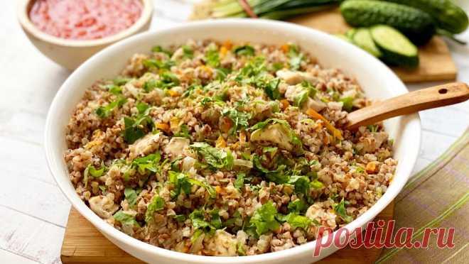 Гречка с куриной грудкой в духовке - обожаю ленивые рецепты | Марусина Кухня | Яндекс Дзен