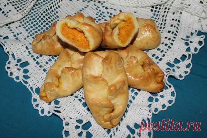 Пирожки с тыквой в духовке несладкие рецепт с фото пошагово - 1000.menu