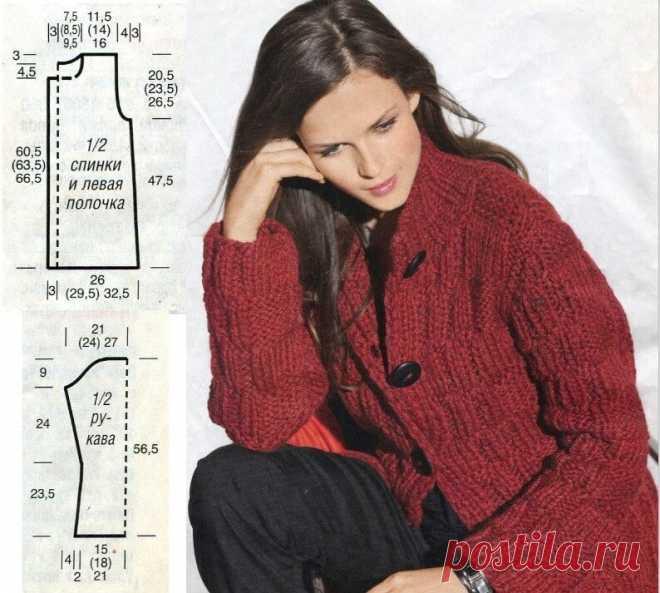 Вязание спицами. Жакет, пуловер, комплект для лыжных прогулок. | Вязание круглый год | Яндекс Дзен