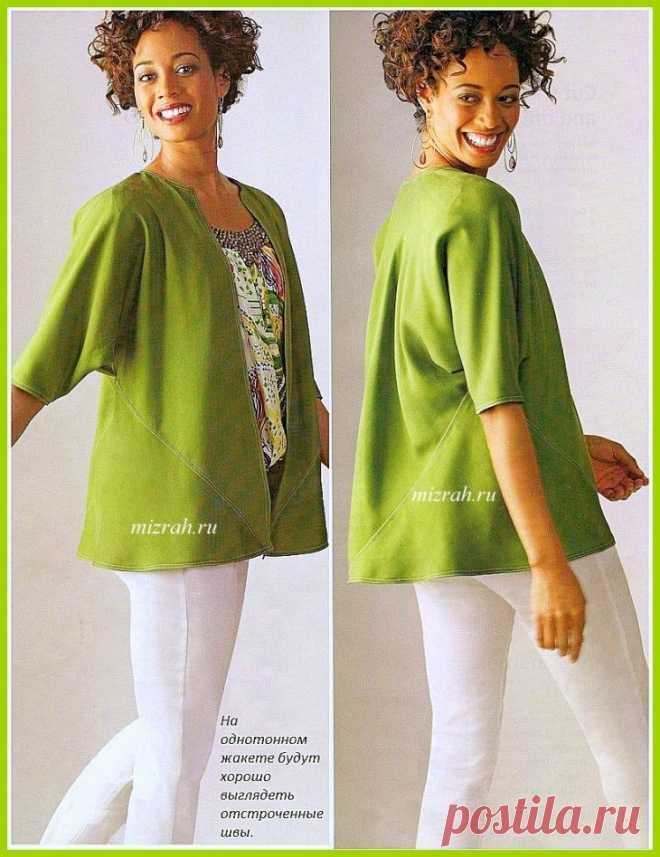 Блуза или жакет из квадратов (Diy) / Простые выкройки /