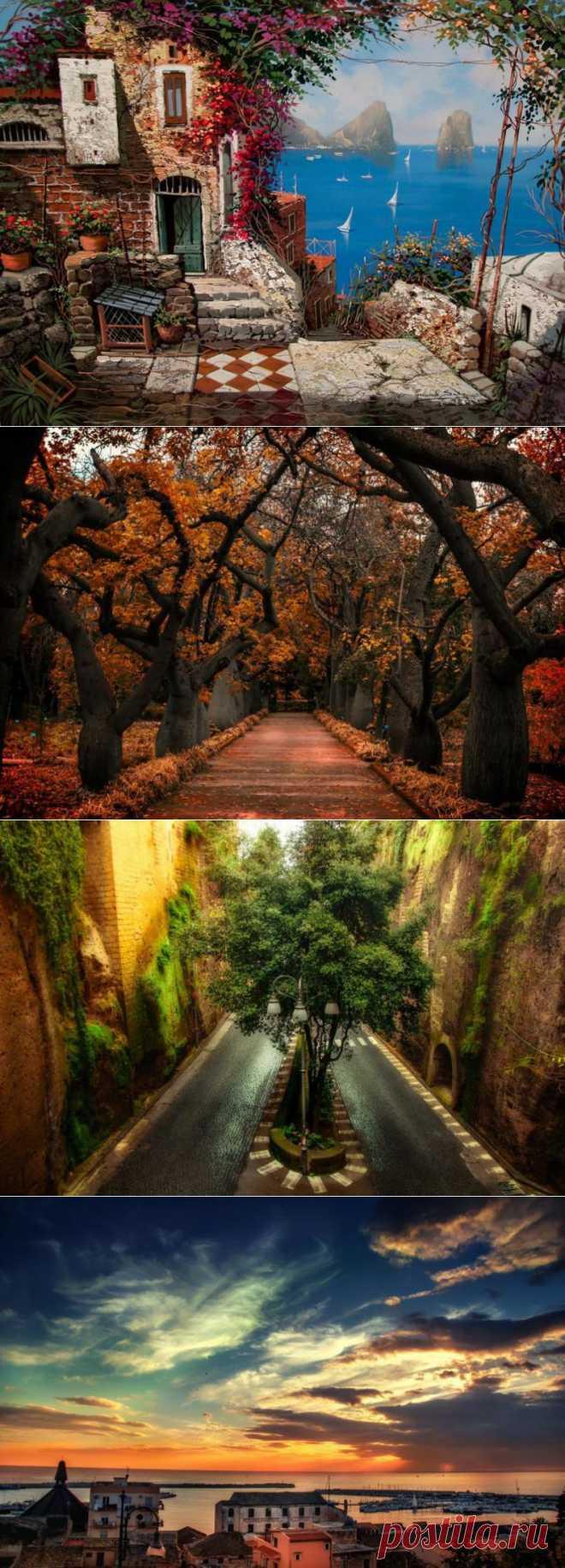Чудесные и теплые пейзажи Италии | Фото. В отпуск хочу!