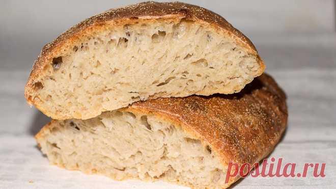 Вкусный домашний хлеб без вымешивания – простой рецепт