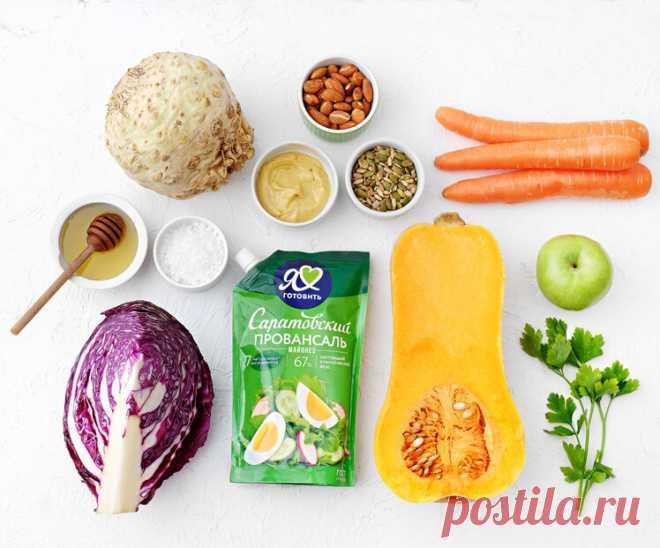 Салат Коул слоу из осенних овощей | СаратовскийВтеме | Яндекс Дзен
