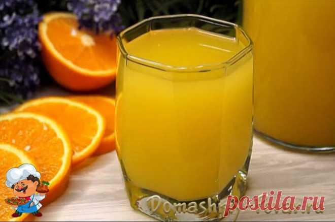 Рецепт апельсинового сока в домашних условиях с фото