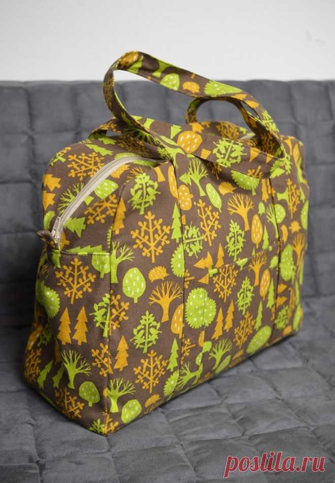 Вместительная сумка (Diy) Модная одежда и дизайн интерьера своими руками