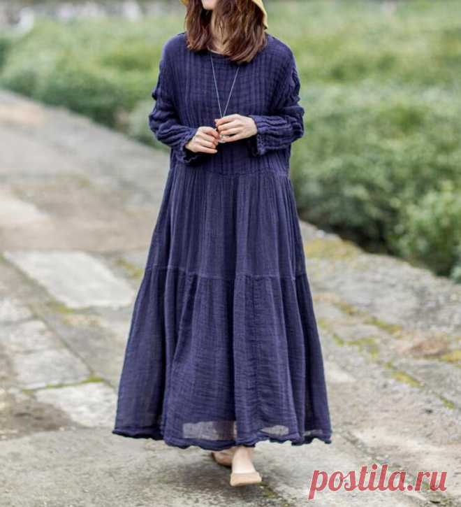 Women long dress Linen Dresses for women Prom dress | Etsy