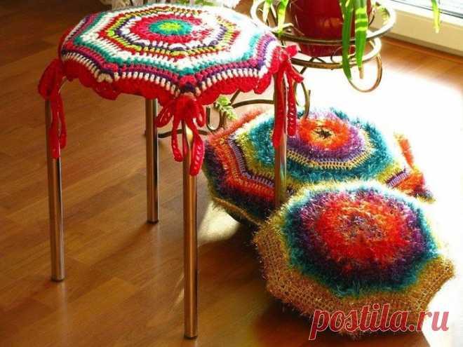 Яркий мир вязание.