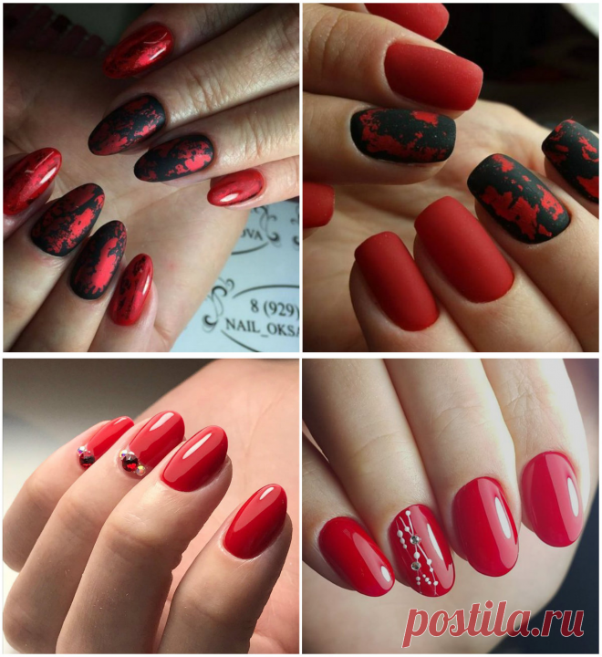 Red Nails 2019 Top 4 Trendy Ways For Getting Red Nail Design In
