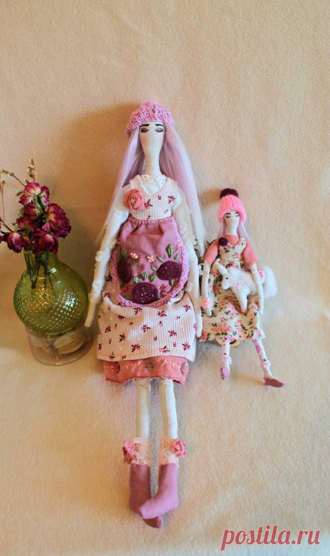 419f8df6e5e Интерьерная кукла Тильда-семья
