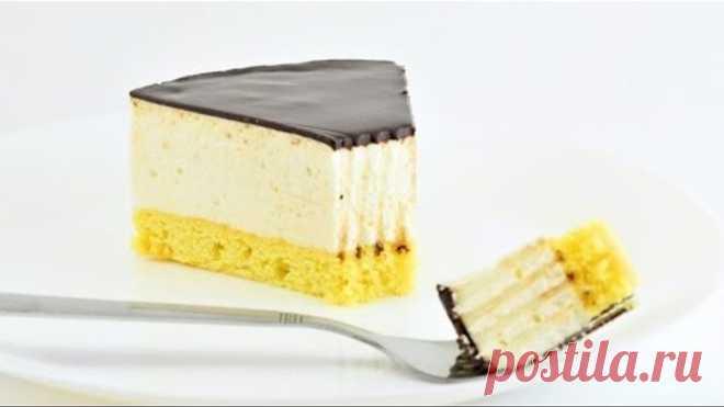 Торт Птичье молоко ☆ Нежный и простой торт-суфле ☆ Вкус из детства