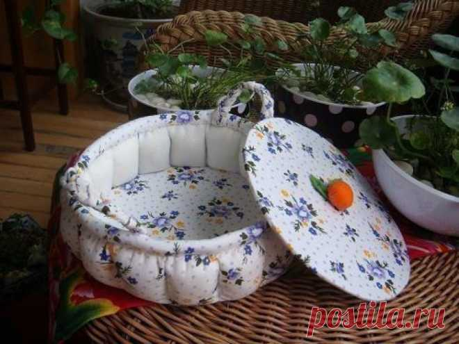 Текстильная шкатулка
