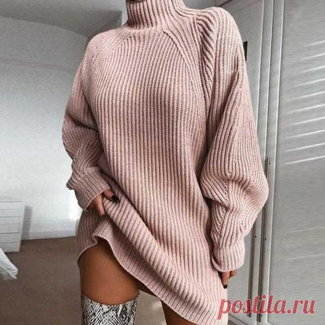 Высокое качество осень зима свитер женский новый вязаный свитер Turtlenec рукав реглан Однотонный женский свитер платье пуловеры|Водолазки| Детские жаккарды| роспись по ткани | готовые выкройки |
