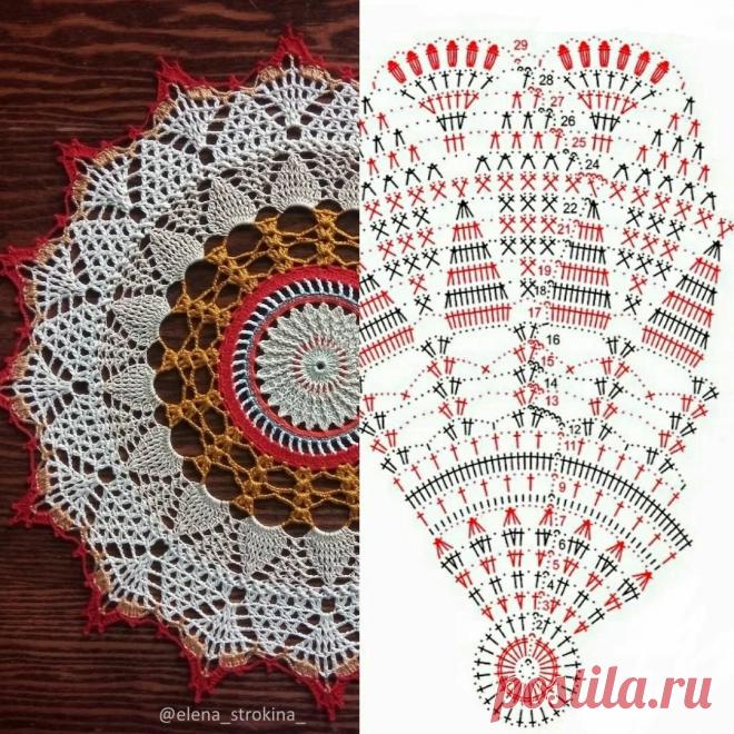 Красивые разноцветные салфетки со схемами (14 вариантов для вдохновения) | 38 рукоделок | Яндекс Дзен