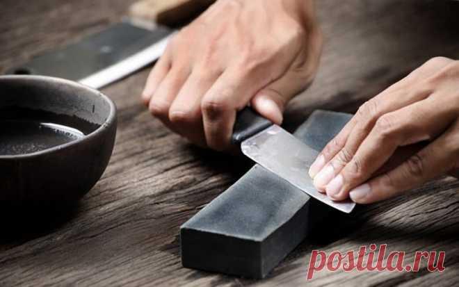 Хитрости для заточки ножей | Делимся советами