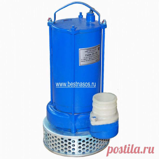 Купите промышленный насос дренажный погружной Гном 25-20 (380 Вольт)