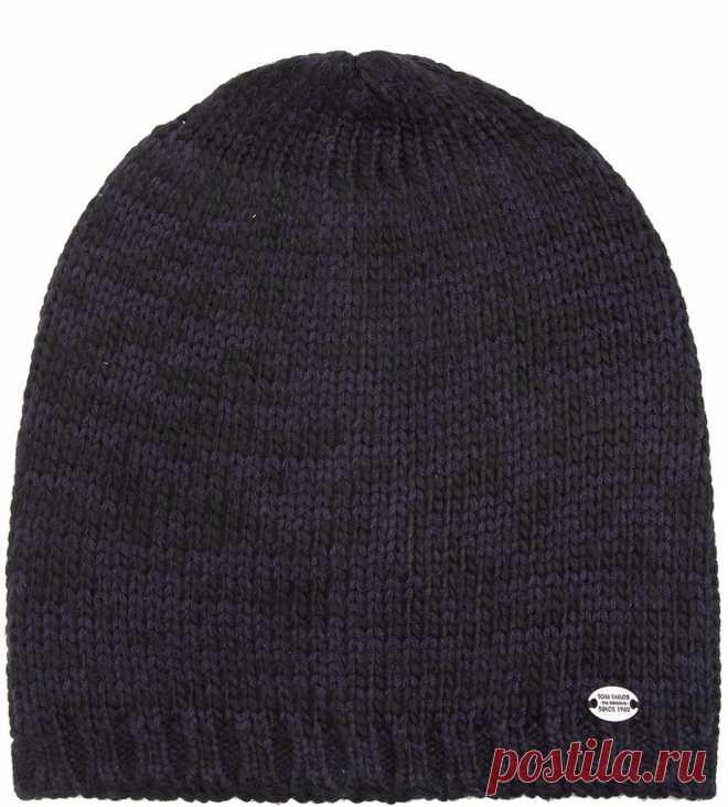 Вязание мужской шапки спицами (с описанием и фото)