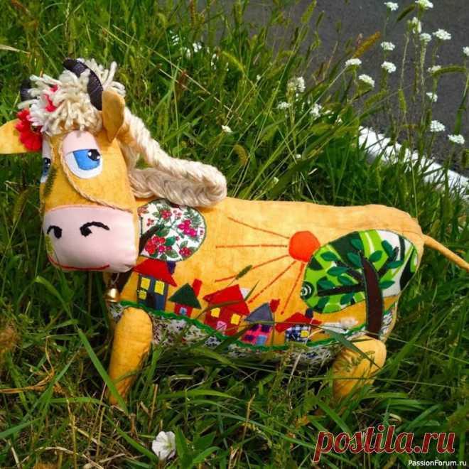 Мои любимые коровки | Разнообразные игрушки ручной работы