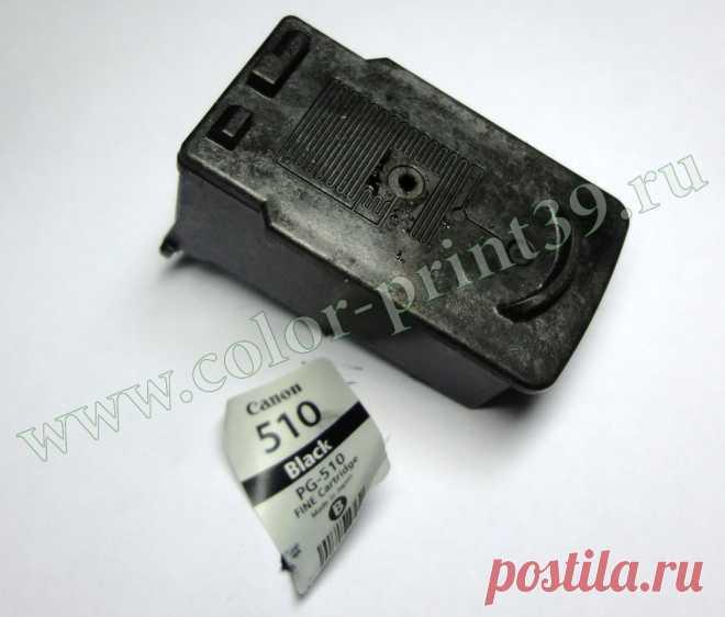 Как установить СНПЧ на оригинальные картриджи Canon PG-510, PG-512, PG-37, PG-40, PG-50, CL-511, CL-513, CL-38, CL-41