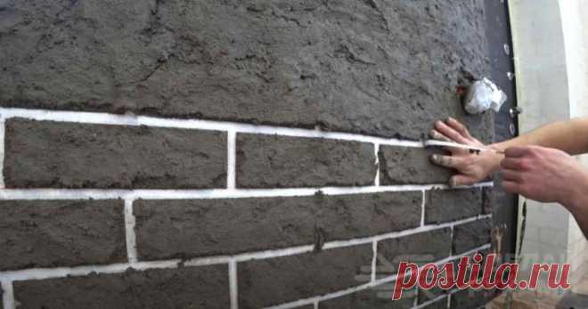 Интересная идея отделки кривых стен: бюджетно и быстро