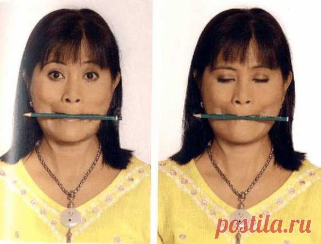 Чтобы разгладить морщины и сделать четким контур лица, нужно делать сначала массаж, а затем…   Женское здоровье
