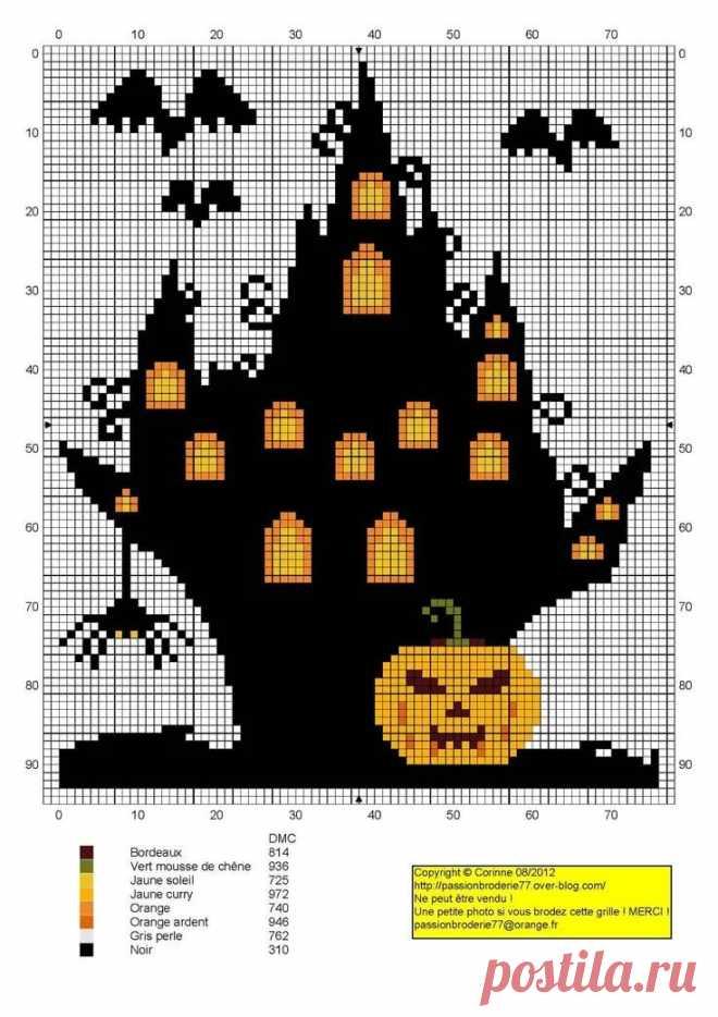 вышивка крестом хэллоуин схемы: 6 тыс изображений найдено в Яндекс.Картинках