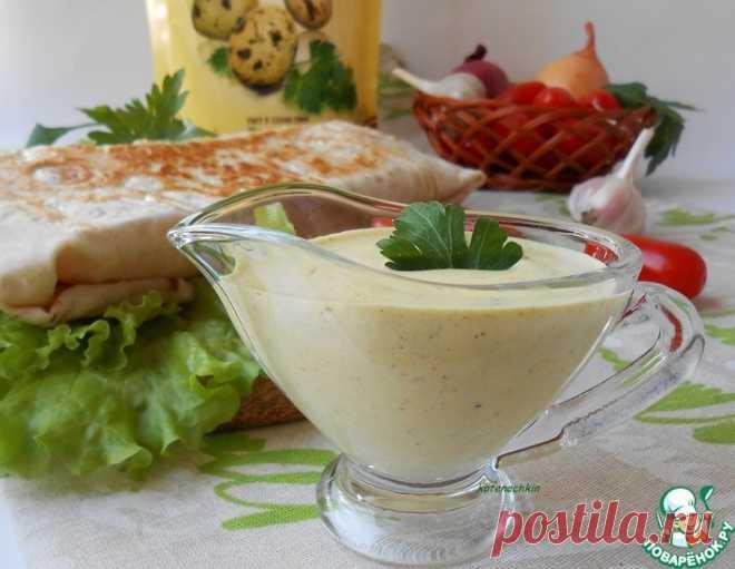 Настоящий соус для шавермы – кулинарный рецепт
