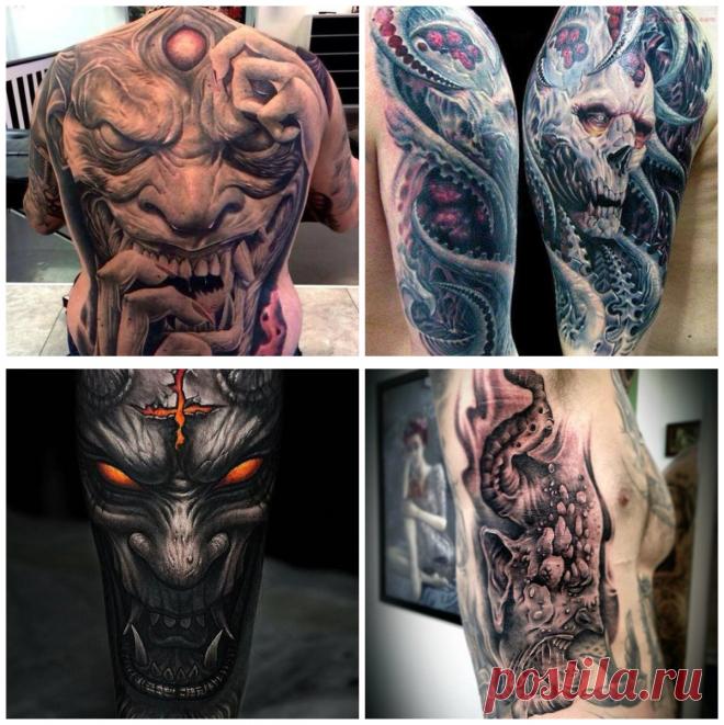 Tatuajes De Demonios Corrientes U Opciones De Tatuajes Masculinos - Opciones-de-tatuajes