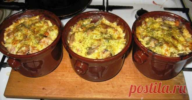 Рецепт белорусской жаренки с грибами. Как жюльен, только в разы вкуснее!