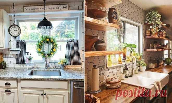 Лучшие советы, как украсить окно на кухне | Lavanda-decor | Яндекс Дзен