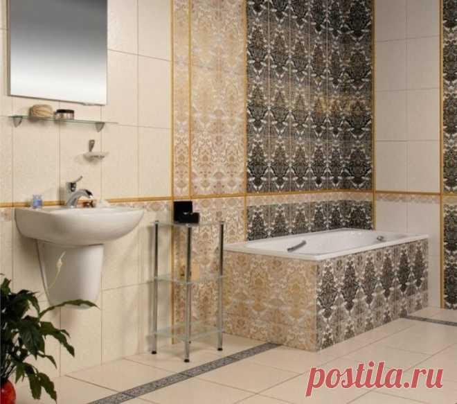 Бюджетные варианты отделки стен ванной комнаты и туалета: панели из пластика, окраска, плитка ПВХ